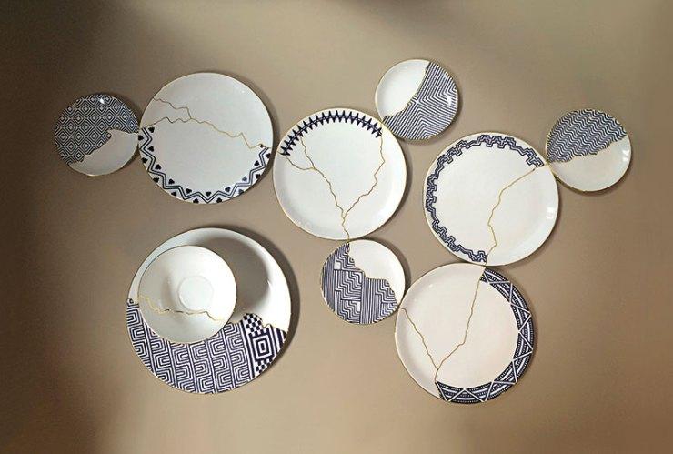Mohenjodaro Tableware, Set of dis-similar tableware