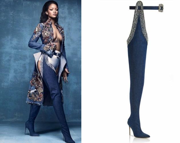 Rihanna X Manolo