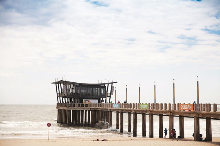 Moyo on the Pier, 150 metres into the sea, is the only beachfront restobar where you can watch the sun set over Durban city's skyline
