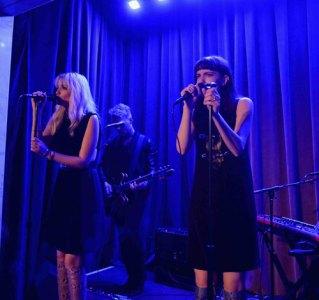 Elektra Kilbey and Miranda Kilbey from Say Lou Lou