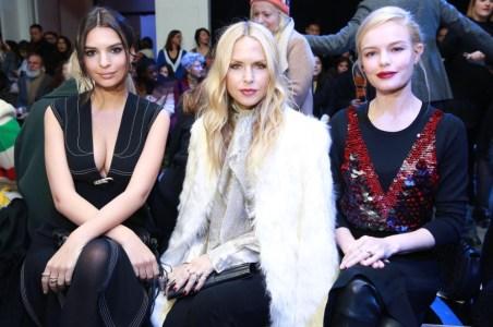 Emily Ratajkowski, Rachel Zoe and Kate Bosworth at Altuzarra