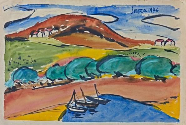 Landscape in Goa (Dona Paola), 1946