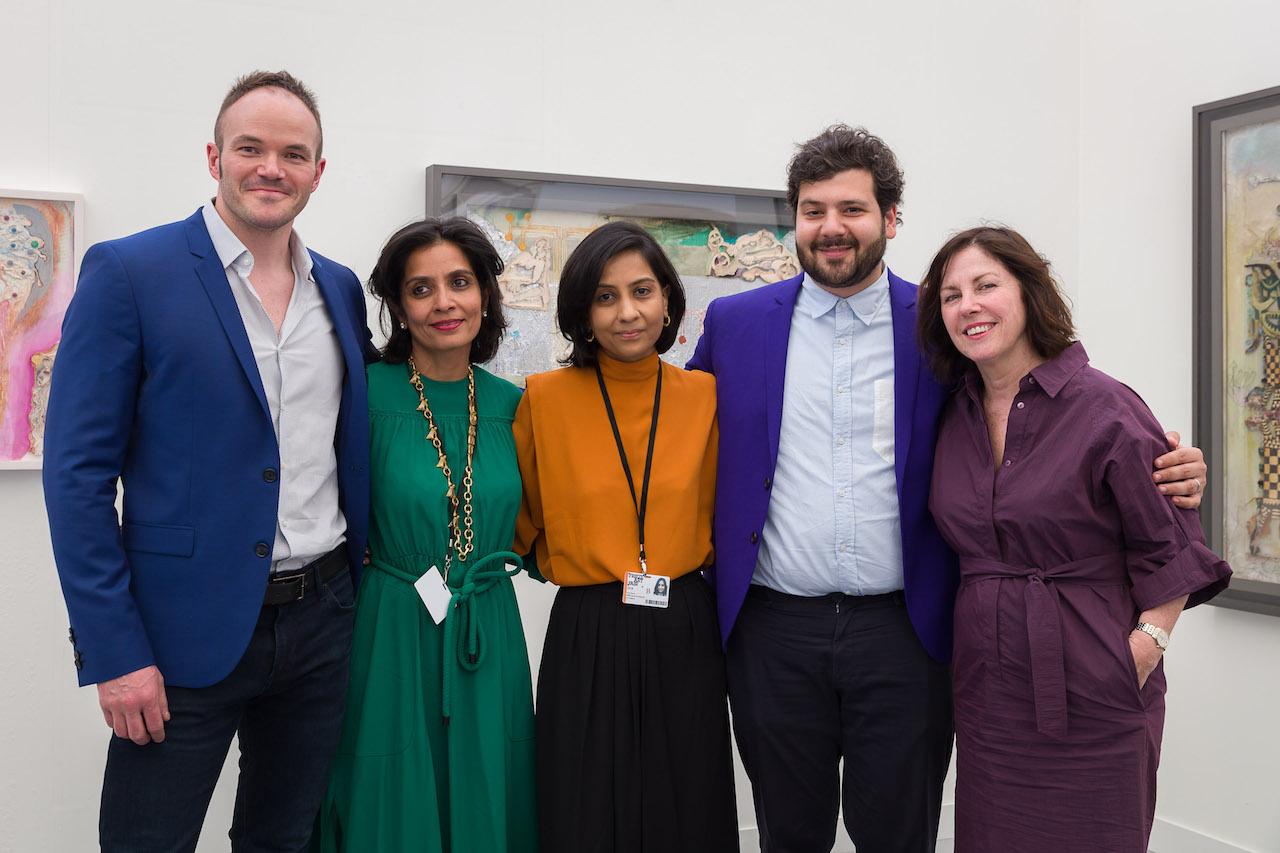Amrita Jhaveri, Art, Frieze, Frieze Art Fair, Jhaveri Contemporary, Mohan Samant, New York, Priya Jhaveri