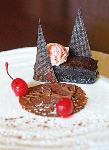 Flourless chocolate bar