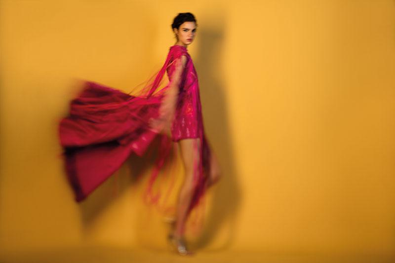 Fashion, Aneev RaoFashion, Aneev Rao, India Inked, Indian colours, rani pink