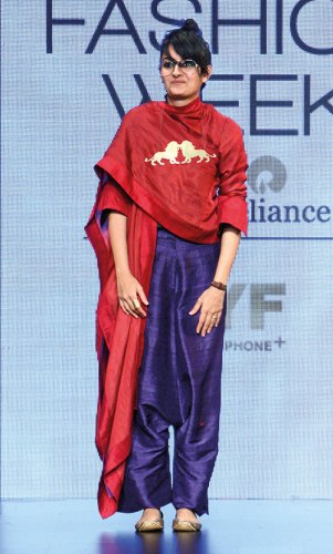 Payal Khandwala at Lakmé Fashion Week autumn winter 2016