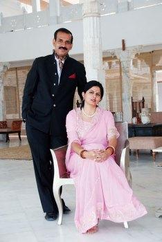 Jitendra Singh Rathore and Gayatri Kumari