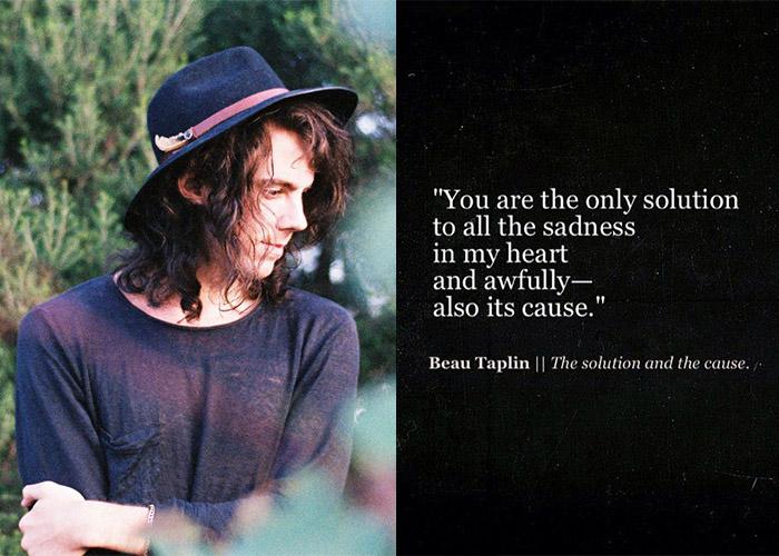 Beau Taplin, Instagram Poet, Writer, Poet,