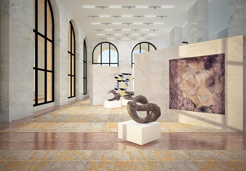 Take a tour of fendi s new headquarters verve magazine for Palazzo della civilta italiana fendi
