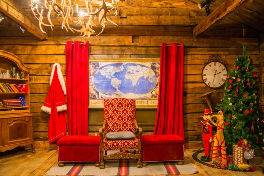 Santa Claus' office in Rovaniemi, Finland