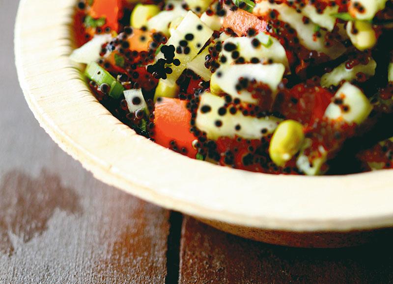 Quinoa salad, Food