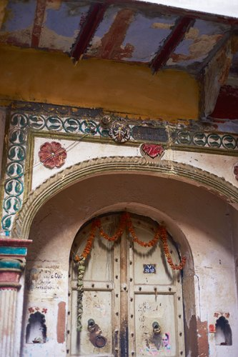 Old, Arched Doors in Delhi 6