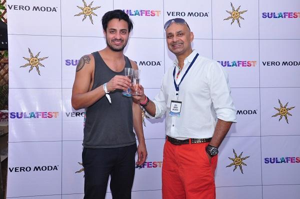Rajeev Samant, Sameer Gadhia at SulaFest 15