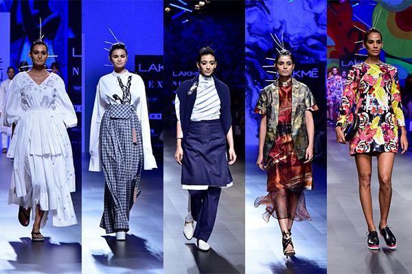 From left to right: Mohammed Mazhar, Two Point Two, Padma Raj Keshri, Helena Bajaj Larsen, Bobo Calcutta