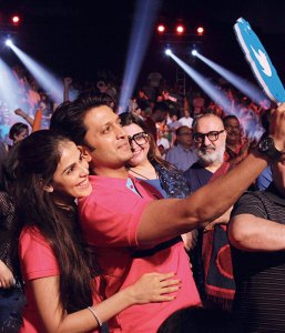 Genelia and Riteish Deshmukh