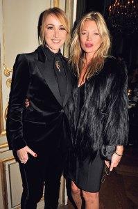 Frida Giannini with Kate Moss