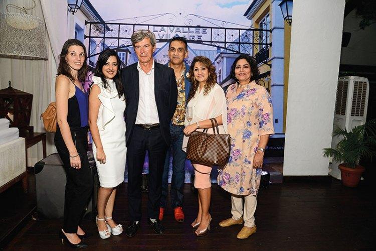 Gwenaelle Batteux, Amy Billimoria, Yves Perrin, Samir Srivastav, Sheetal Munshaw, Verve's Arti Sarin