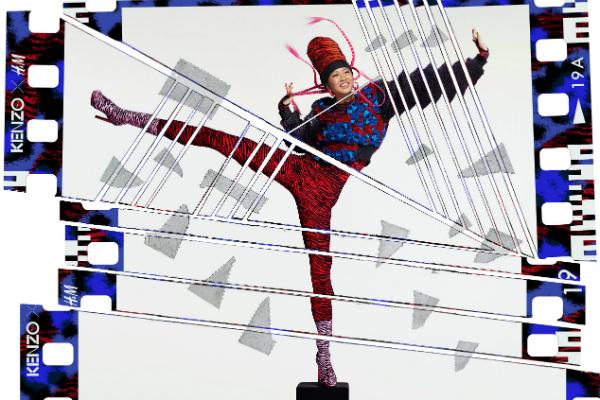 Keno x H&M campaign image starring Suboi