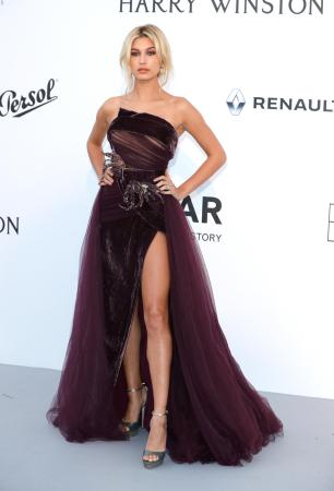 Hailey Baldwin in Elie Saab Couture