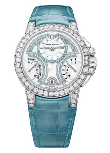 Ocean 20th Anniversary Biretrograde Automatic 36mm, Harry Winston