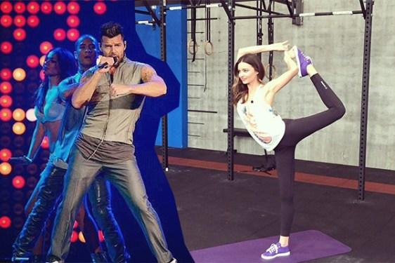 Ricky Martin, Miranda Kerr