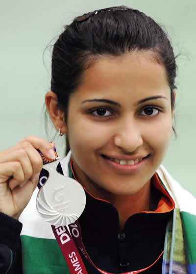 Power Shooter: Heena Sidhu Pandit; Verve Power Women 2014