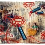 Artwork for Silent Spectacle at Tao Art Gallery, Mumbai