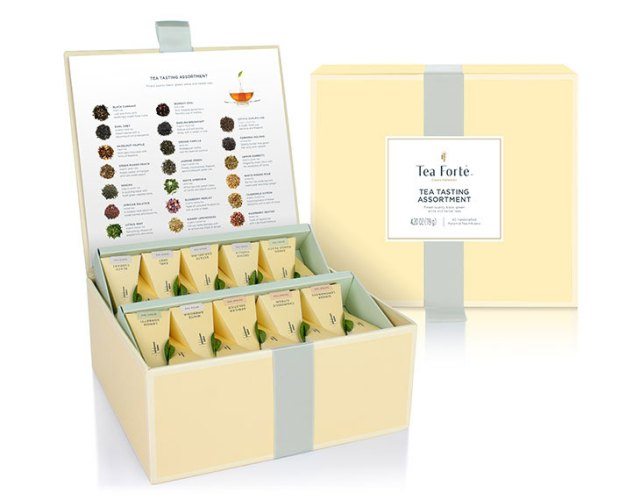 Herbal tea gift box from Tea Forte