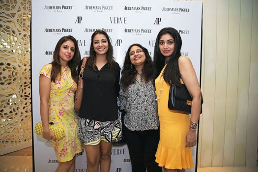Hina Oomer Ahmed, Anjori Alagh, Sanvari Alagh Nair, Tanya Chhabria