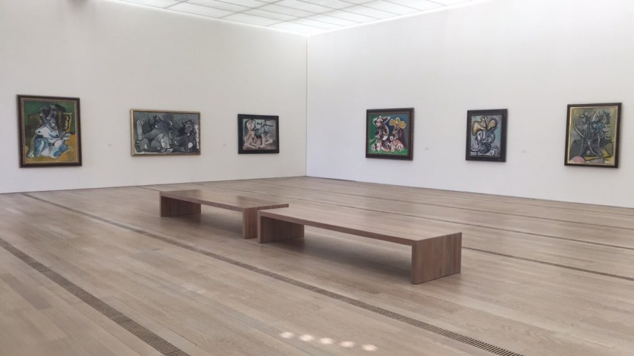 A room of Picassos at Fondation Beyeler