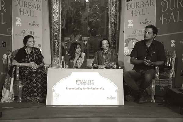 Ila Arab Mehta, Rita Kothari, Priya Sarukkai Chabria, Jerry Pinto at 'Readings - In Other Words'
