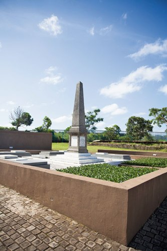 The grave of John Dube
