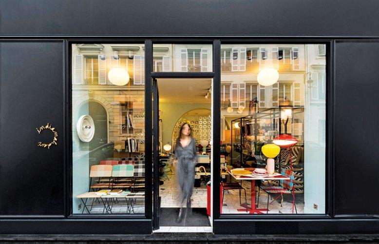 India Mahdavi showroom in Paris