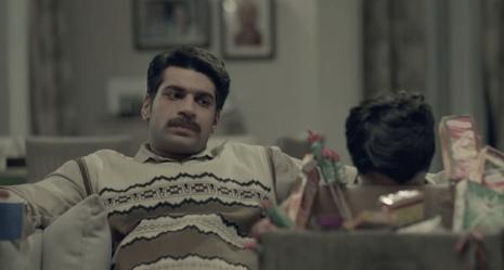 Still from the India vs. Pakistan ad