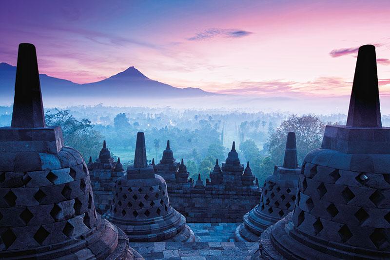 Borobudur, Bali, Indonesia
