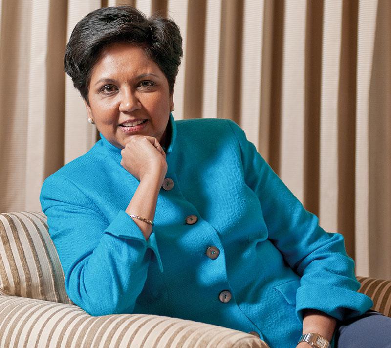 Indra Nooyi, CEO of PepsiCo