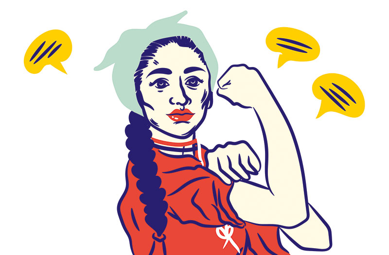 Indraja Saroha, Sex Positive Activist