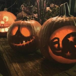 Intricate pumpkin