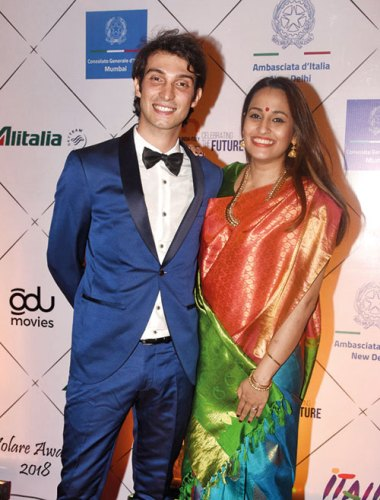 Ivano Fucci and Shweta Pandit