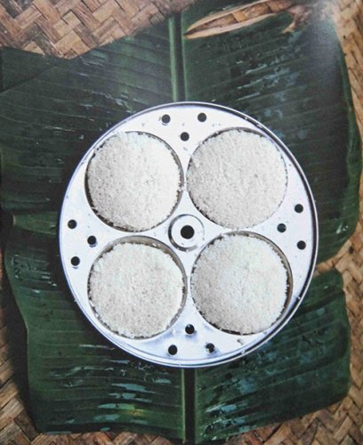 The idli pathram is used to prepare a favourite indian breakfast offering