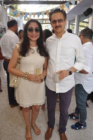 Seema and Jaideep Mehrotra