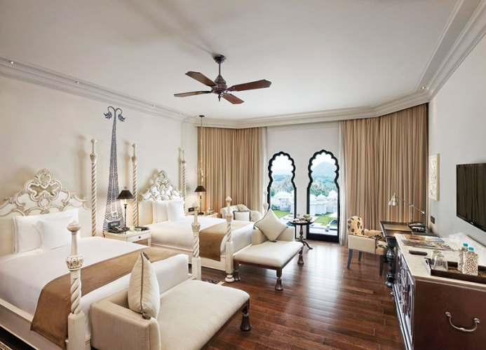 One of the luxurious rooms at the property, Jaipur