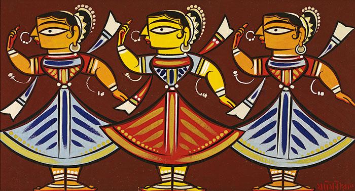 Jamini Roy, Celebrated Painter