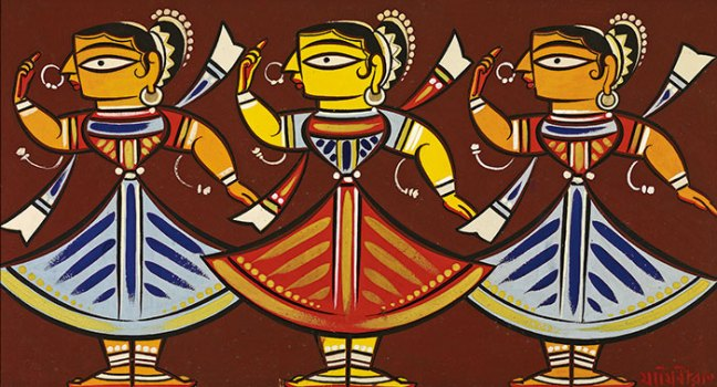 Untitled, Three Dancing Ladies