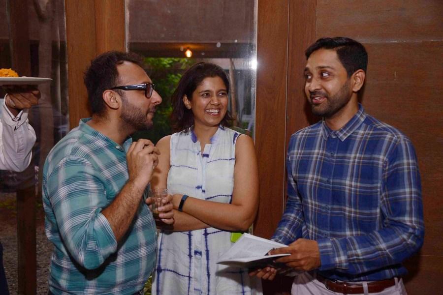 Jasem Pirani, Verve's Amishi Parekh and Huzefa Rangwala
