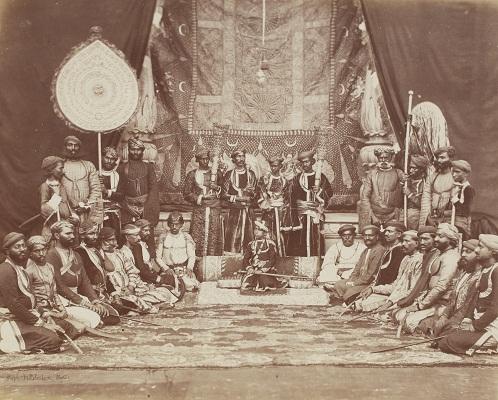 Jaswant Singh, Maharaja of Bhurtpore in Durbar
