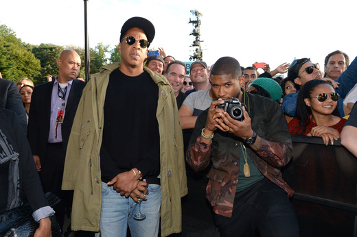 Jay Z, Usher
