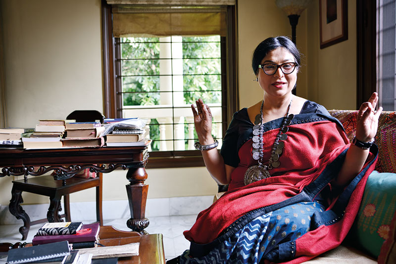 Jayasri Burman, Contemporary Indian artist, New Delhi