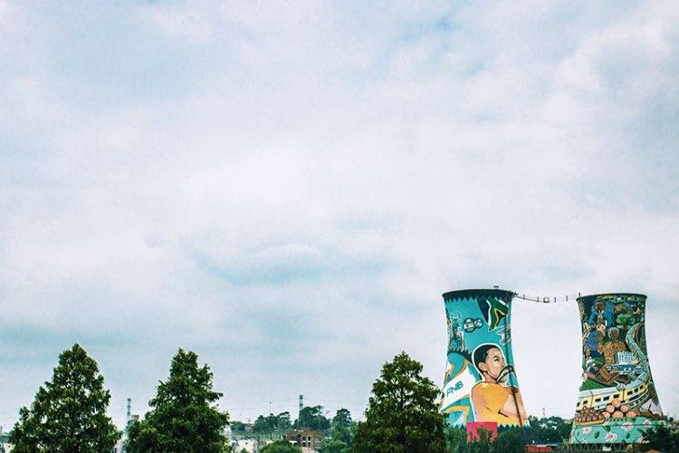 Soweto's iconic Orlando Towers