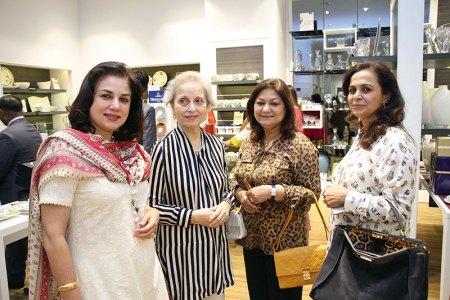 Jyoti Thapar, Sunita Kumar, Iti Dasgupta, Rita Punwani